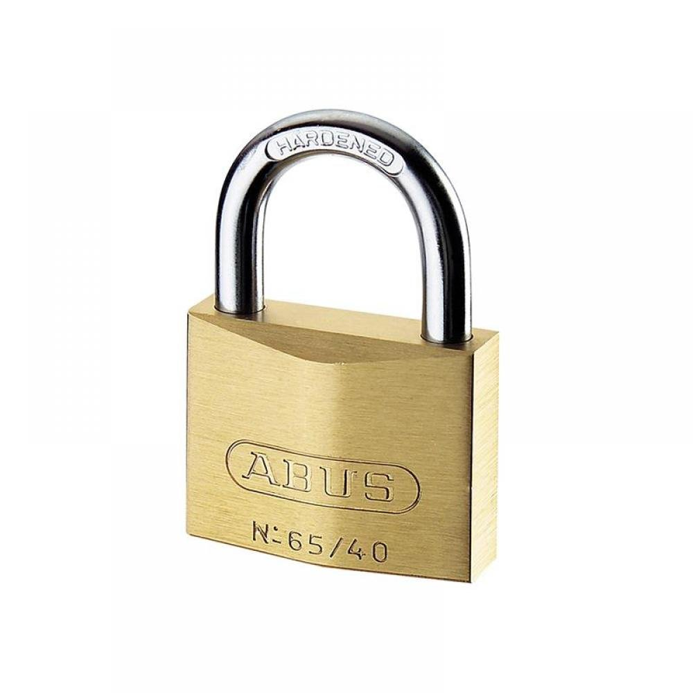 ABUS Mechanical 65/40mm Brass Padlock Master Keyed MK65401
