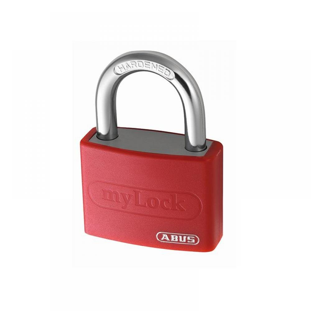 ABUS Mechanical T65AL/40mm My Lock Aluminium Padlock Red