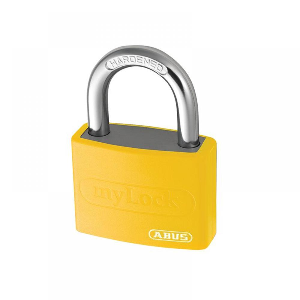 ABUS Mechanical T65AL/40mm My Lock Aluminium Padlock Yellow