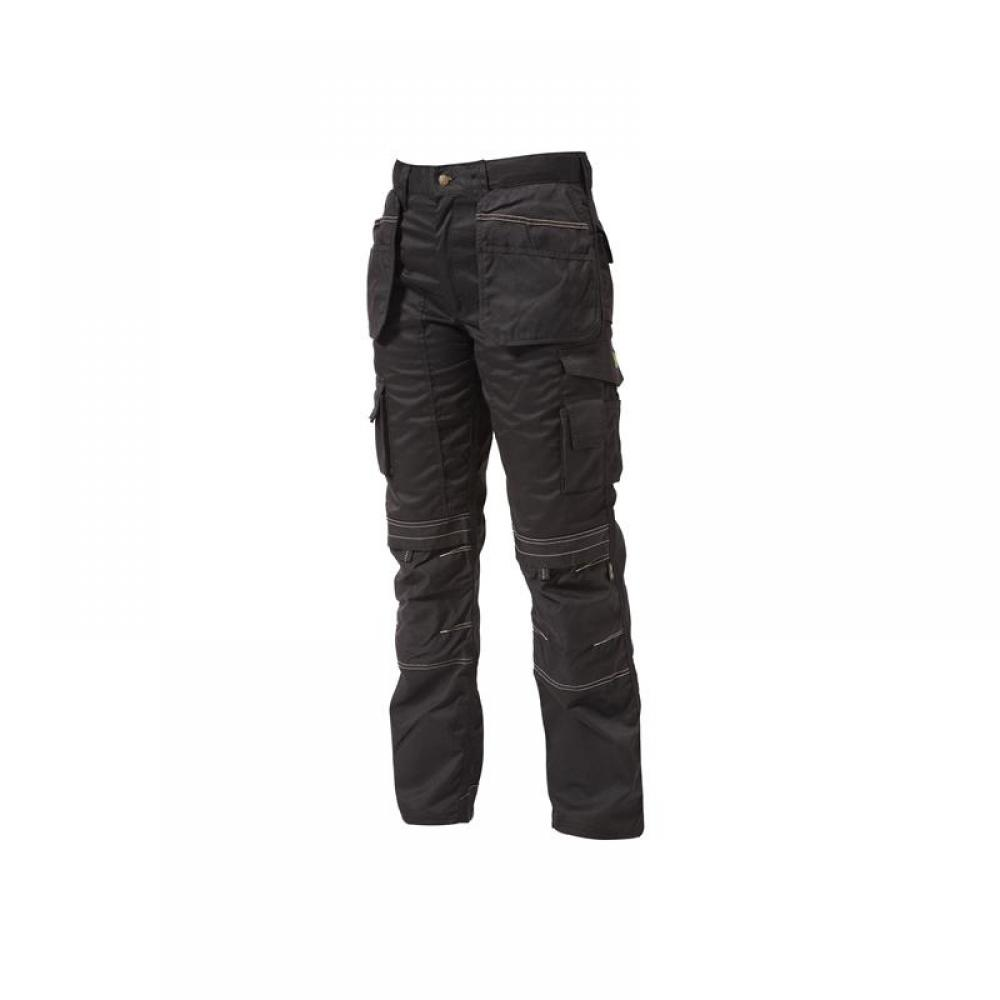 Apache Black Holster Trousers Waist 30in Leg 31in
