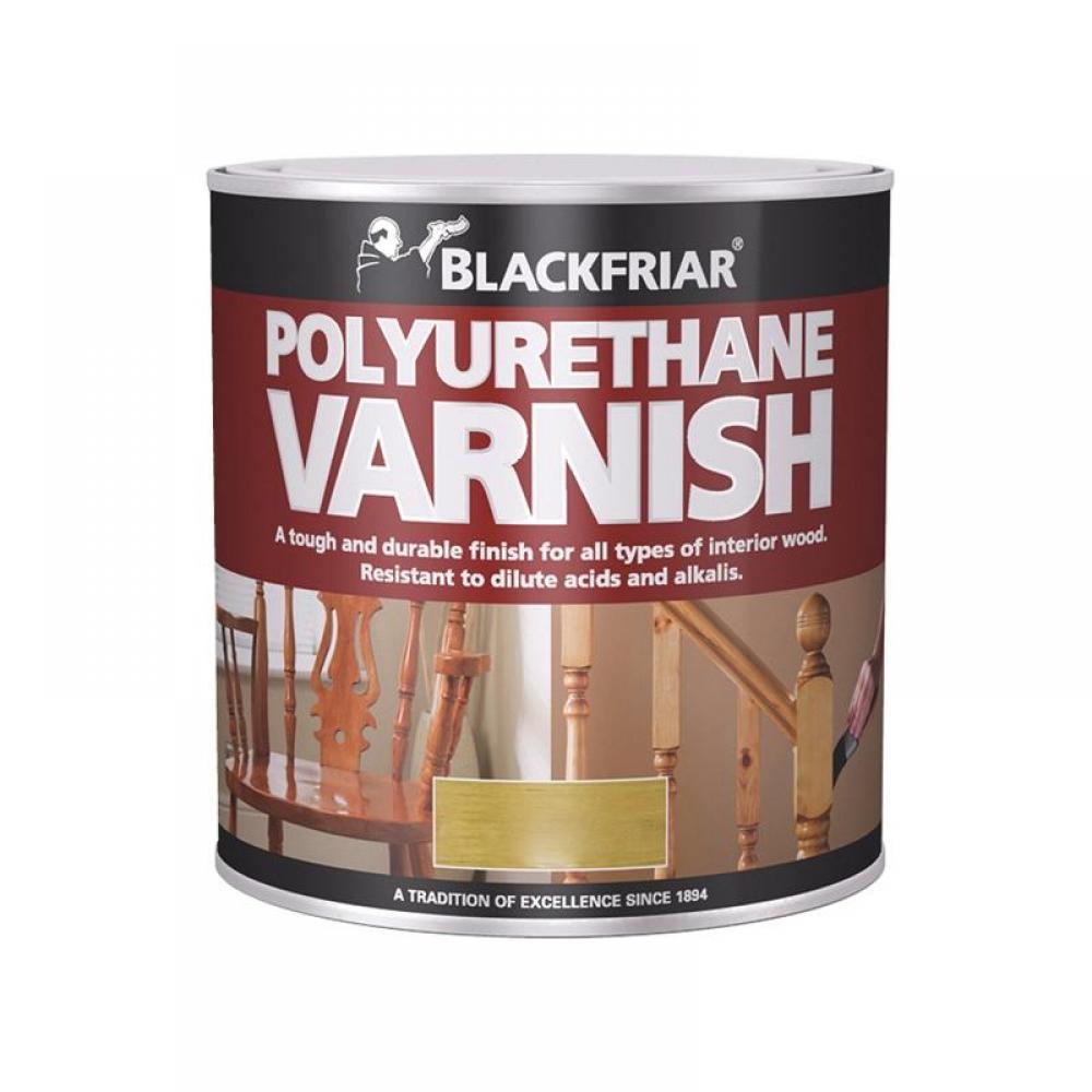 Blackfriar Polyurethane Varnish P60 Teak Gloss 500ml