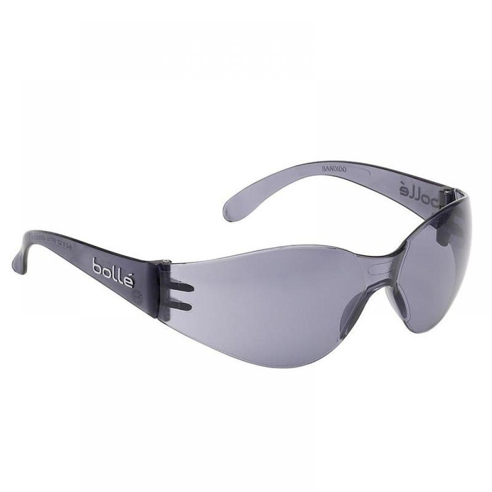 Bolle Safety BANDIDO Safety Glasses - Smoke