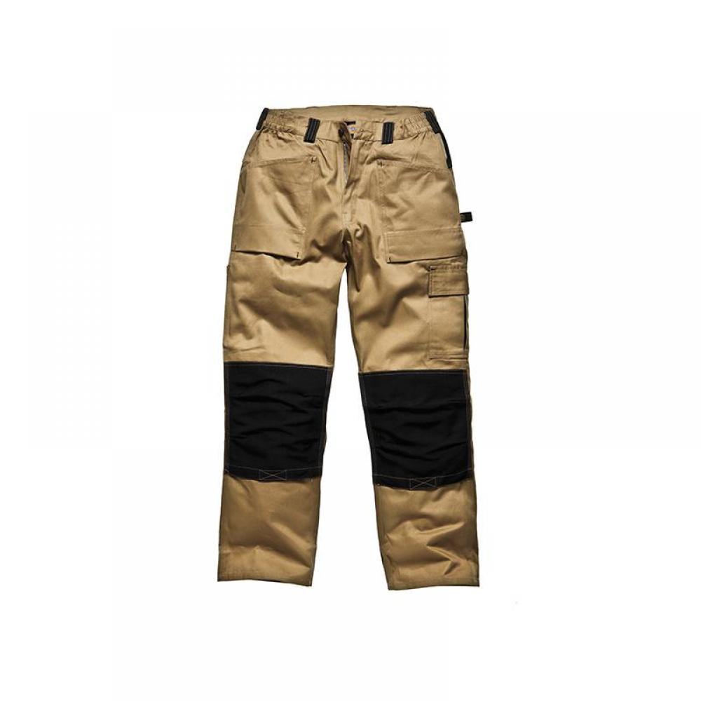 Dickies GDT290 Trousers Khaki & Black Waist 32in Leg 33in