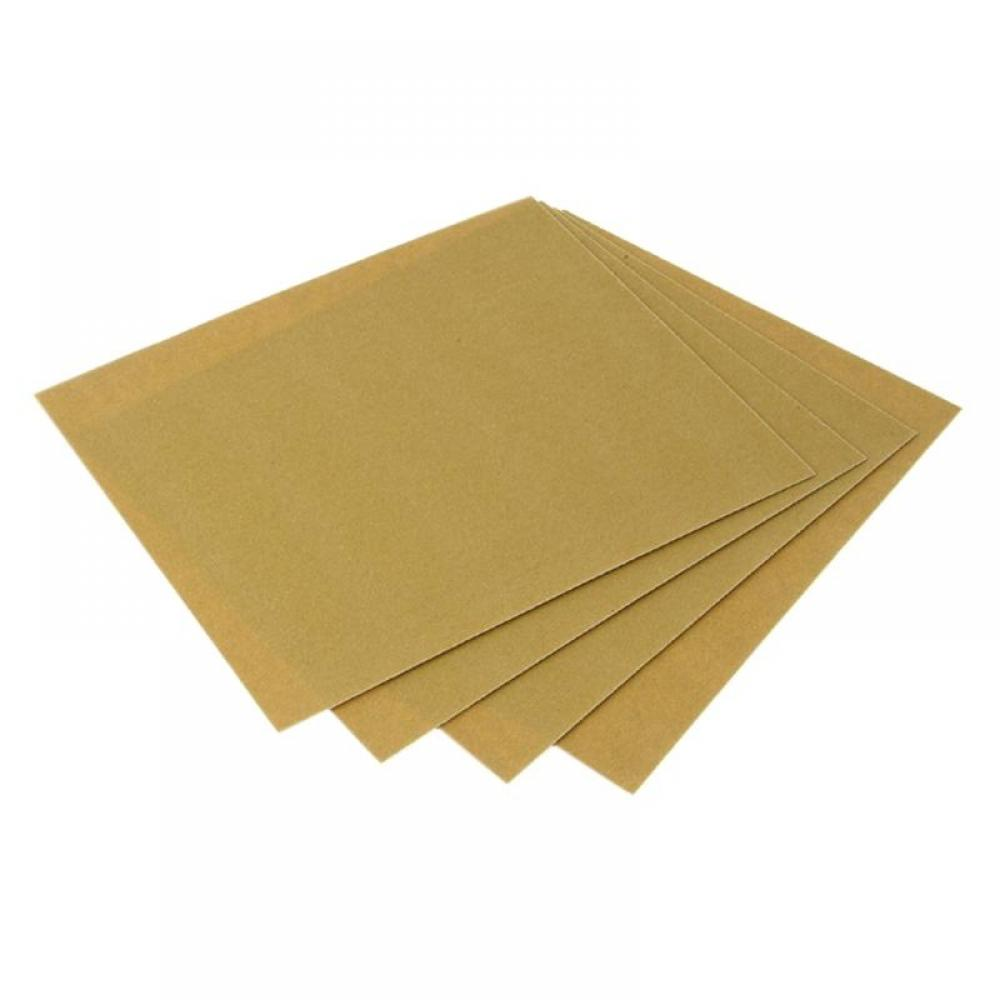Faithfull Glasspaper Sanding Sheets 230 x 280mm Coarse 50G (5)
