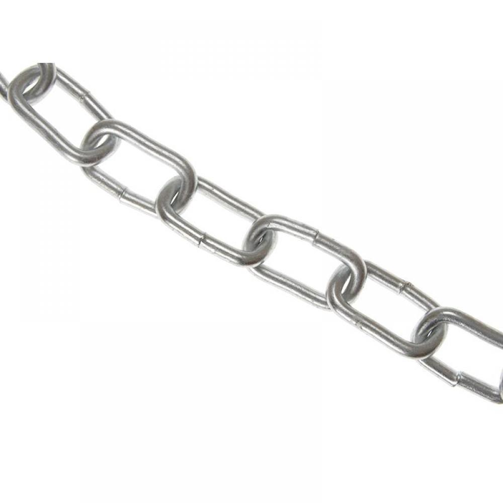 Faithfull Zinc Plated Chain 5mm x 10m Box - Max Load 160kg
