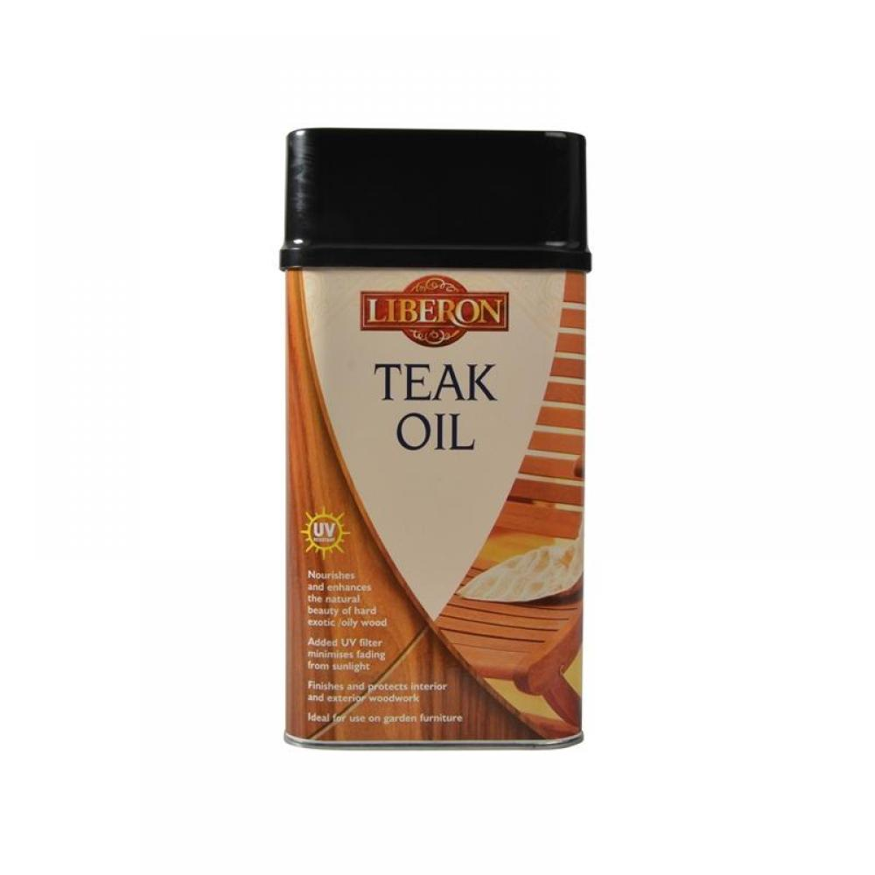 Liberon Teak Oil with UV Filters 1 litre