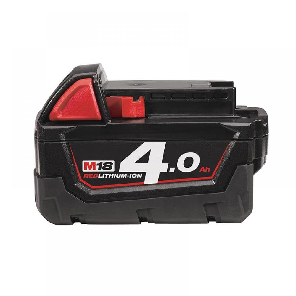 Milwaukee M18 B4 REDLITHIUM-ION Slide Battery Pack 18V 4.0Ah Li-ion