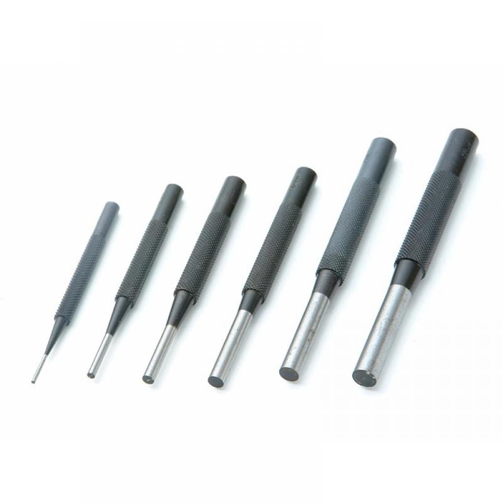Priory 135-S6 Parrallel Pin Punches in Wallet Set 6 Piece