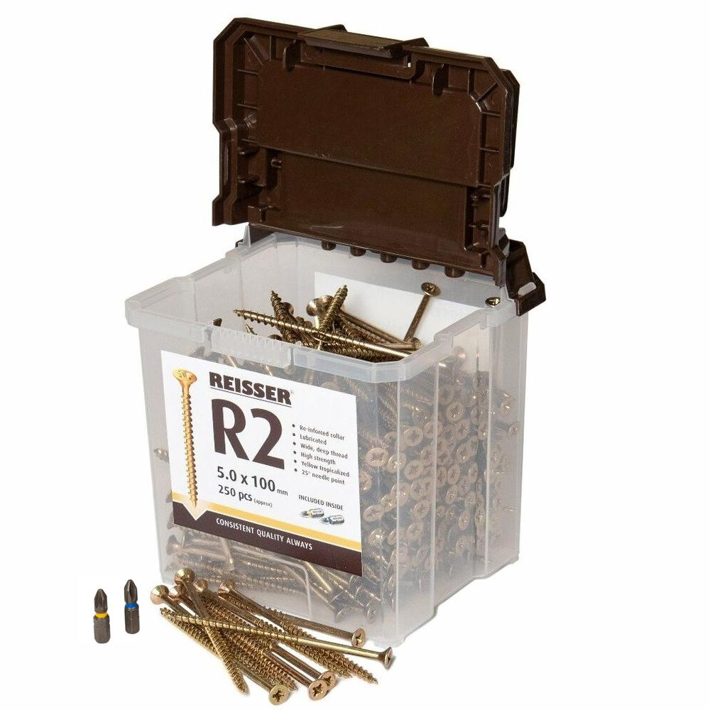 Reisser R2 Tubs 4.5 X 60mm (Pack Of 600)