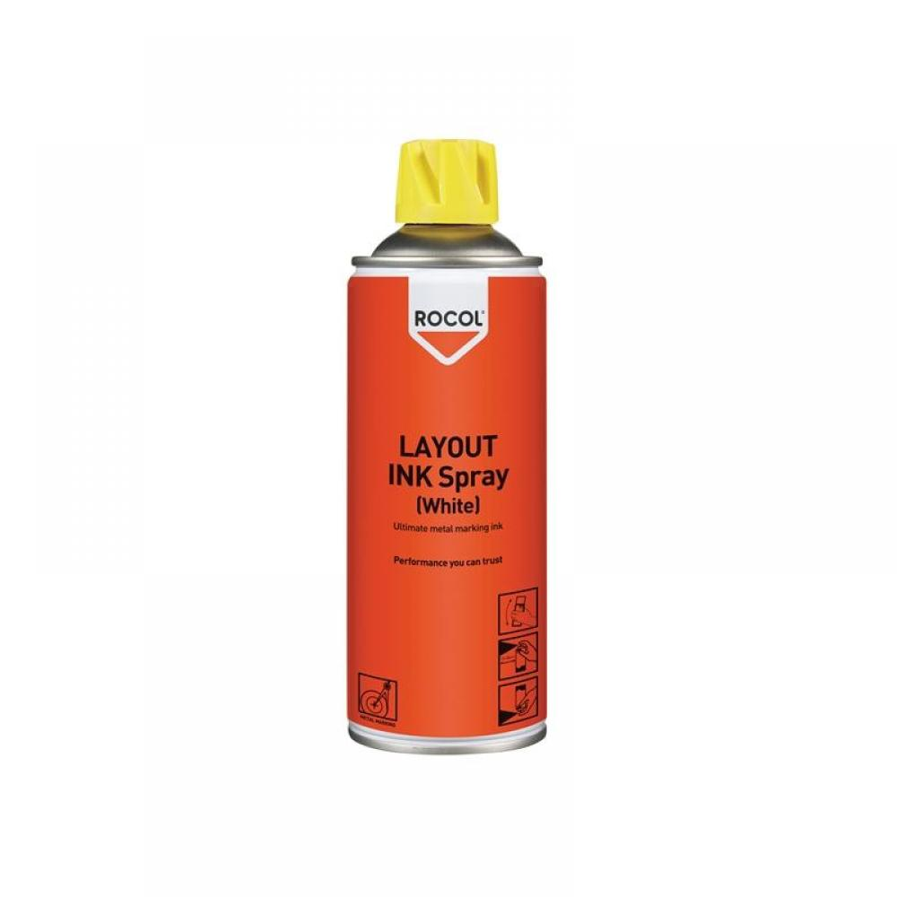 Rocol LAYOUT INK Spray White 400ml