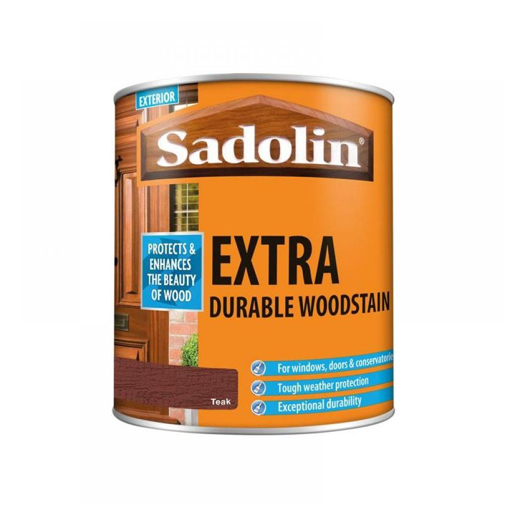 Sadolin Extra Durable Woodstain Teak 1 litre