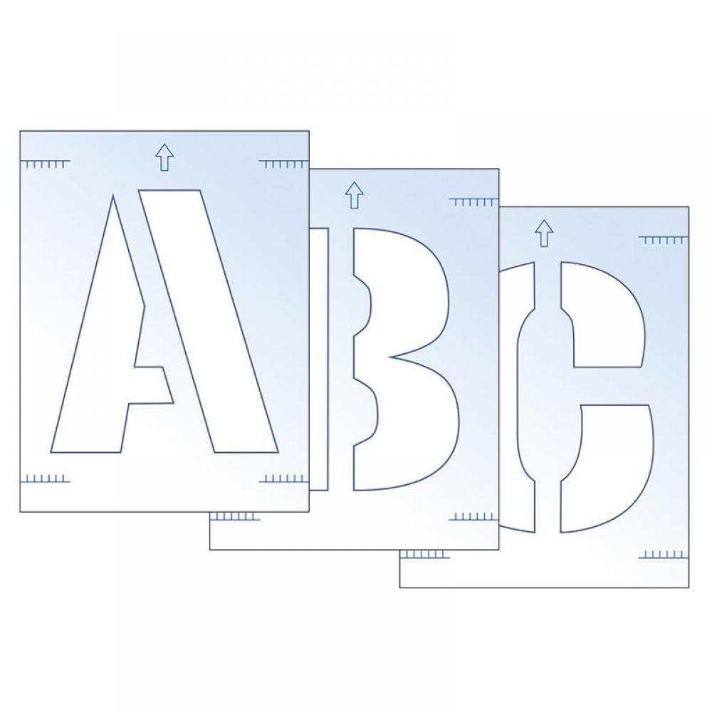 Scan Letter Stencil Kit 300mm
