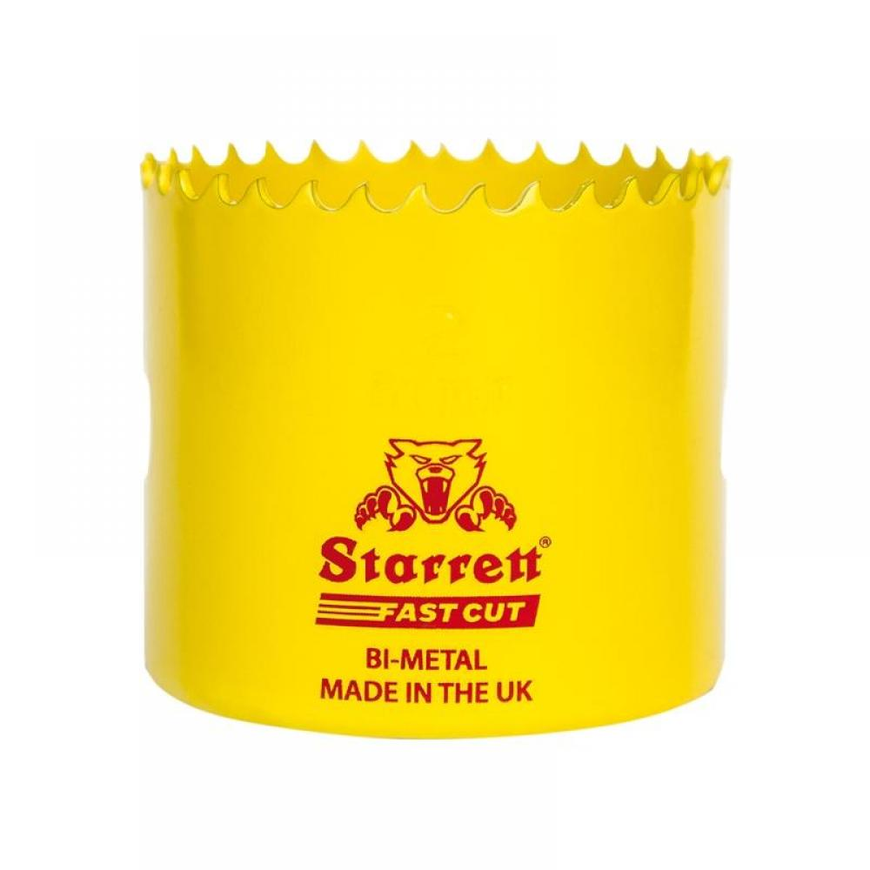 Starrett FCH0216 Fast Cut Bi-Metal Holesaw 52mm
