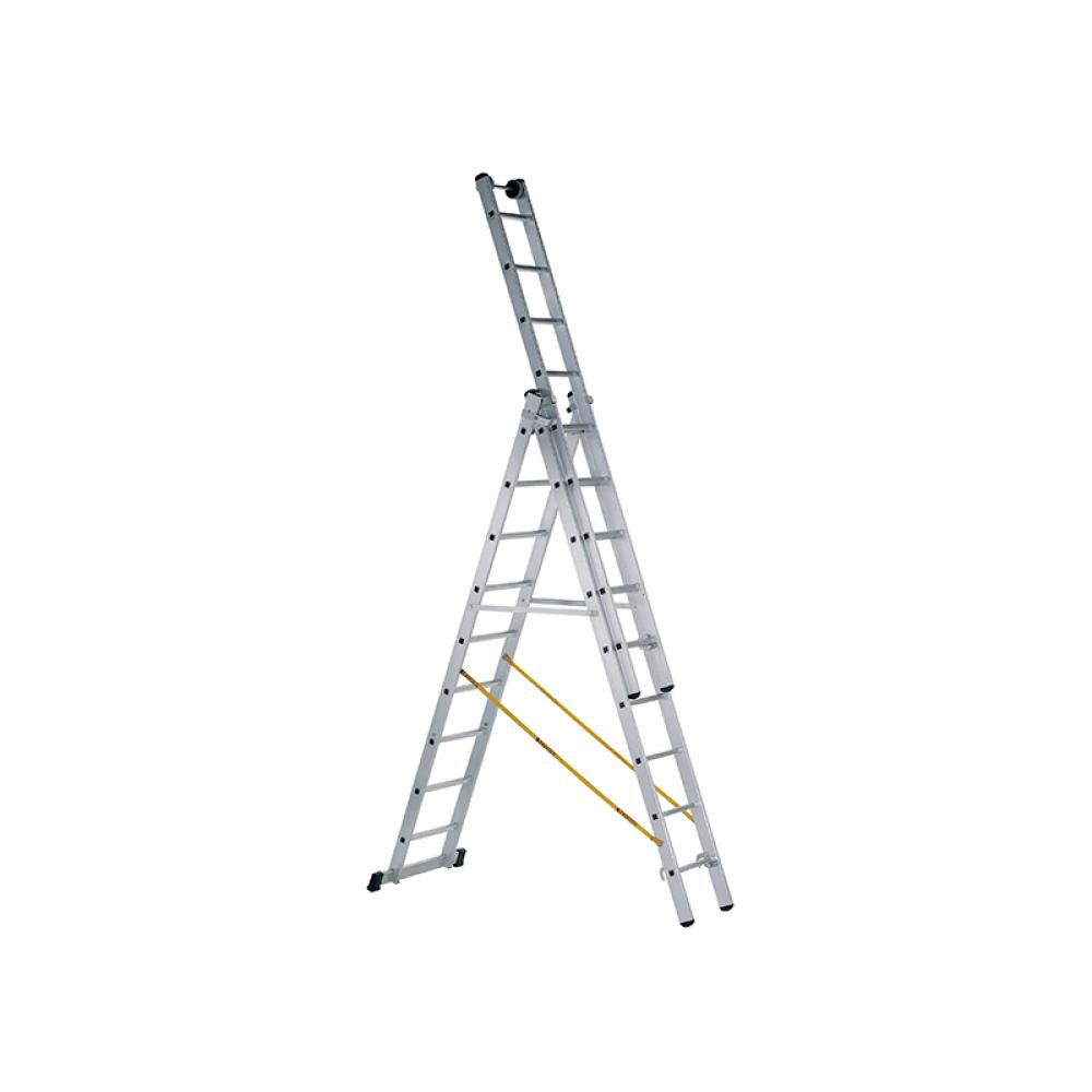 Zarges Skymaster Industrial Combination Ladder 3-Part 3 x 8 Rungs
