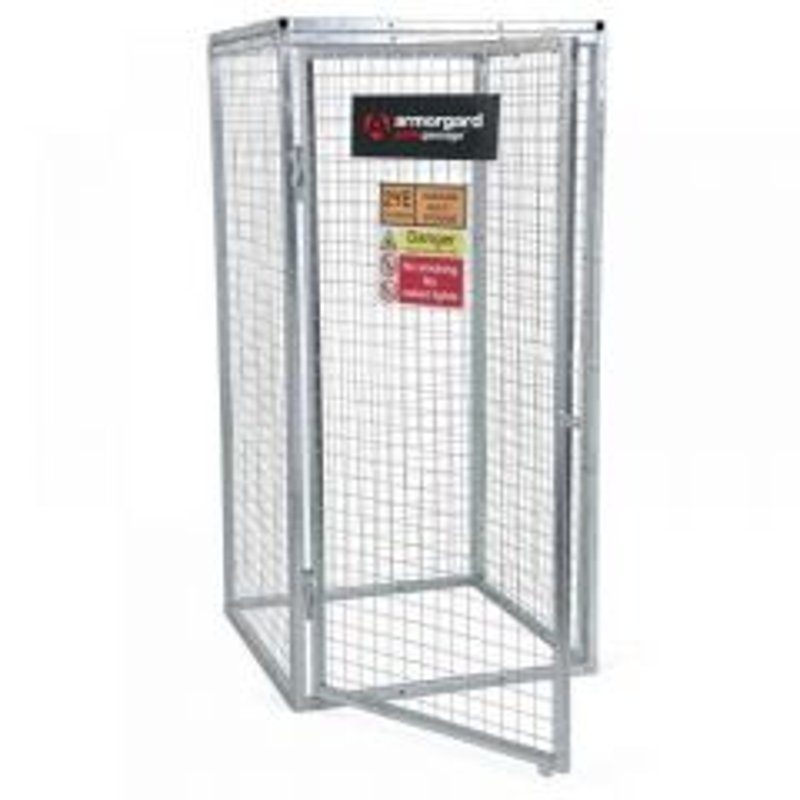 Armorgard GGC5 Gorilla Gas Bottle Cage (900 x 900 x 1800mm) GGC5