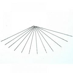 Bahco 302-83S-12P Spiral Fret Saw Blades Medium 130mm (5in) (Pack of 12) 302-83S-12P