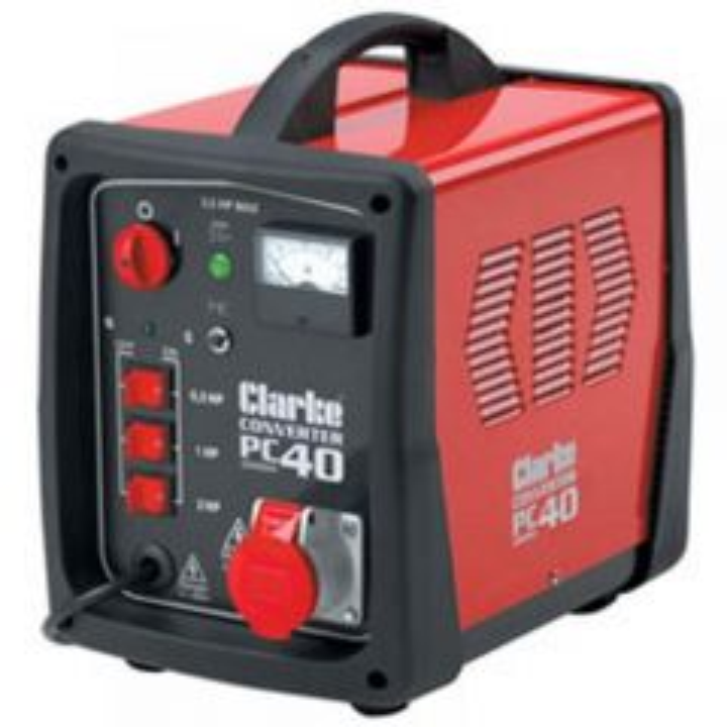 Clarke PC40 3.5hp Phase Converter 6012790