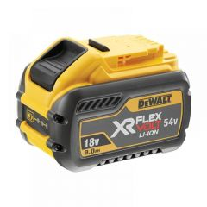 DeWalt DCB54 XR FlexVolt Slide Li-ion Batteries Range
