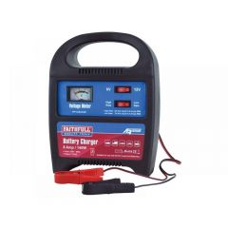 Faithfull Vehicle Battery Charger 9-112Ah 8 amp XHBC08A