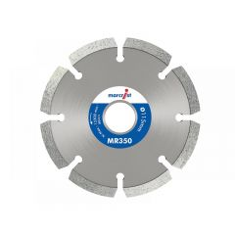 Marcrist MR350 Trade Mortar Raking Diamond Blade 115 x 22.2mm