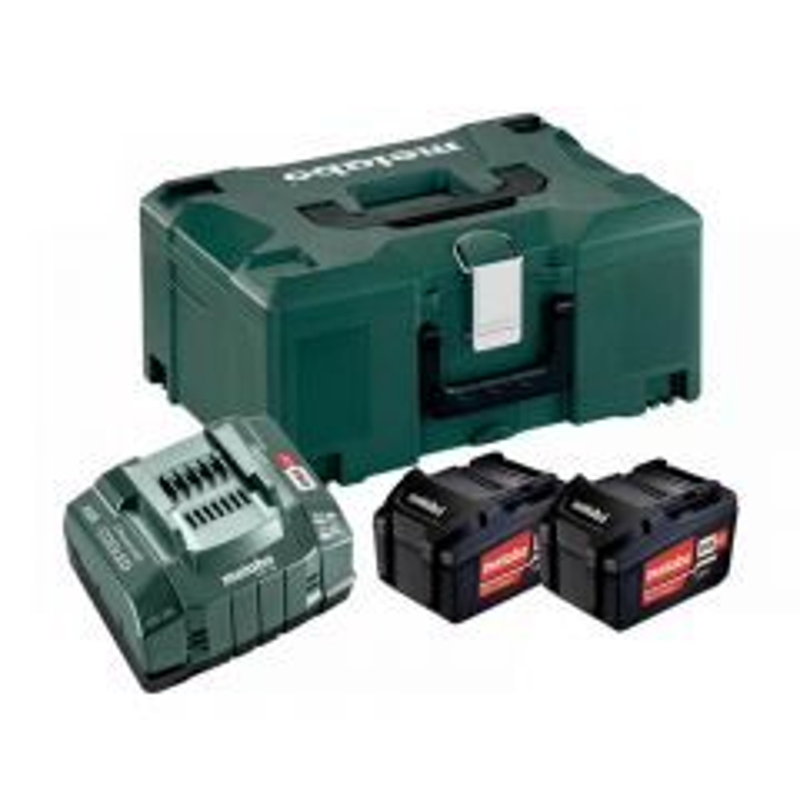 Metabo Basic Li-ion Battery Set 18V 2 x 5.2Ah 685065000