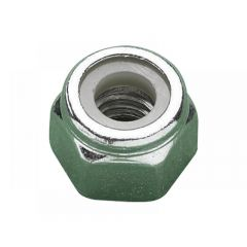 METALMATE Type P Nylon Insert Nuts, Zinc Plated Range