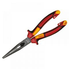 Milwaukee VDE Long Round Nose Pliers 205mm