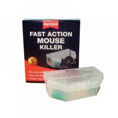 Rentokil Fast Action Mouse Killer (Twin Pack) PSF135