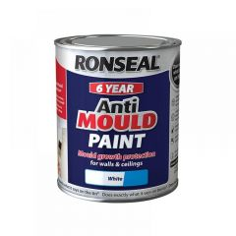 Ronseal 6 Year Anti Mould Paint Range