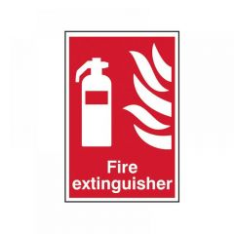Scan Fire Extinguisher - PVC 200 x 300mm