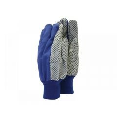 Town and Country TGL404 Mens Dotted Canvas Gloves