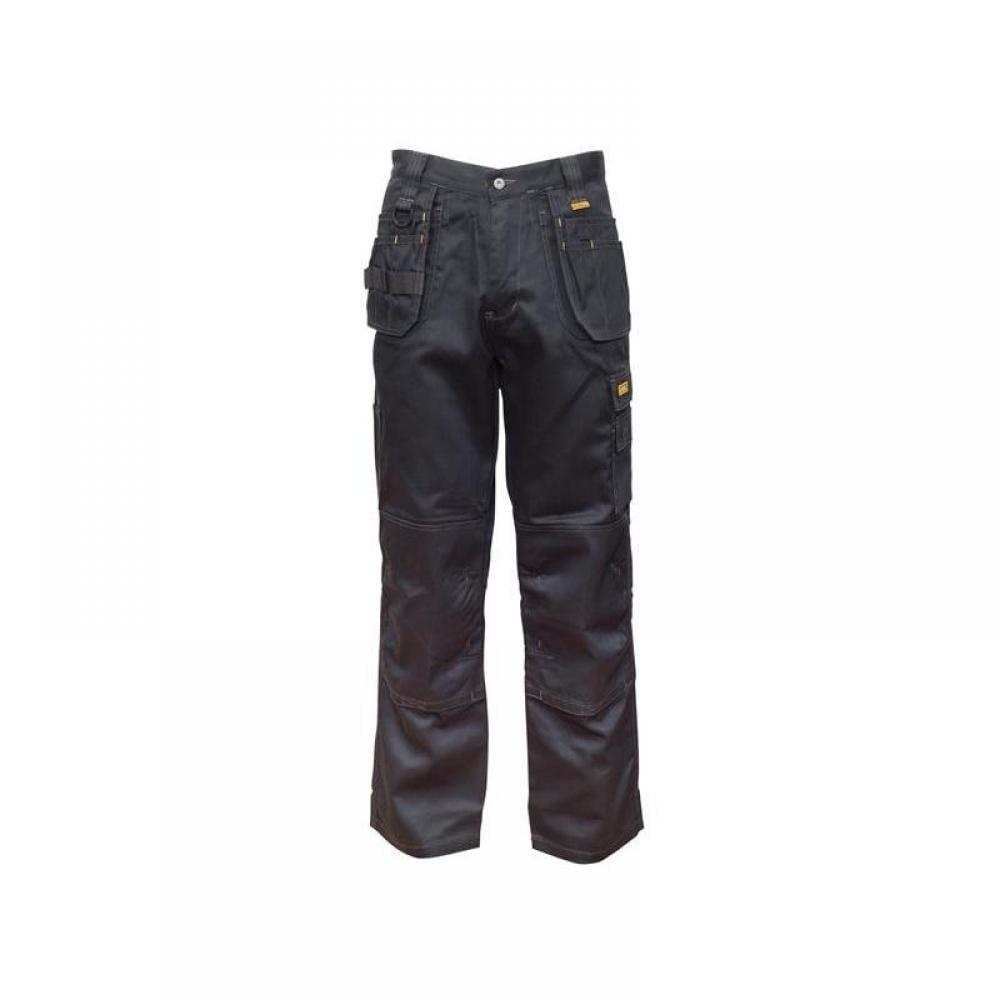 DeWalt Thurlston 3D Stretch Black Trousers Waist 32in Leg 33in