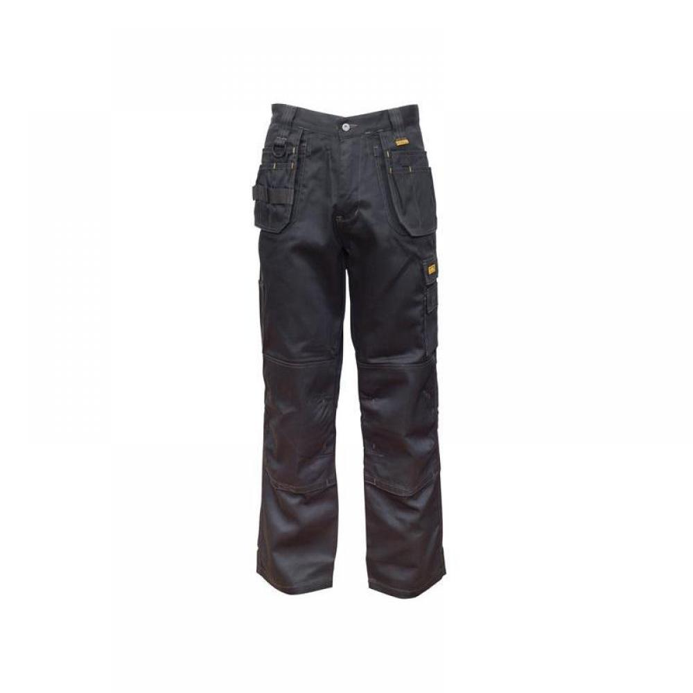 DeWalt Thurlston 3D Stretch Black Trousers Waist 36in Leg 29in