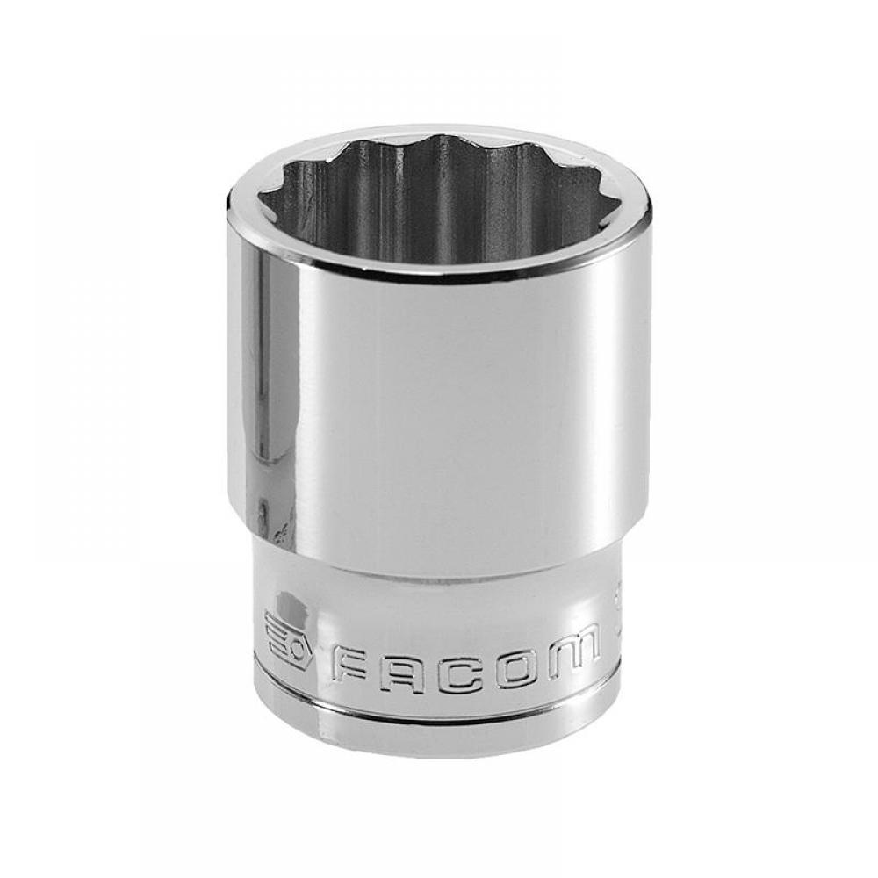 Facom Bi-Hexagon Socket 1/2in Drive 19mm