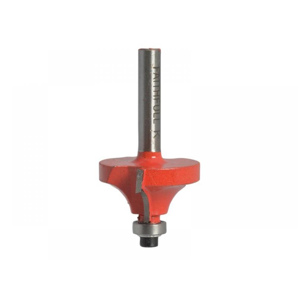 Faithfull Router Bit TCT Ovolo 16.5mm 1/4in Shank