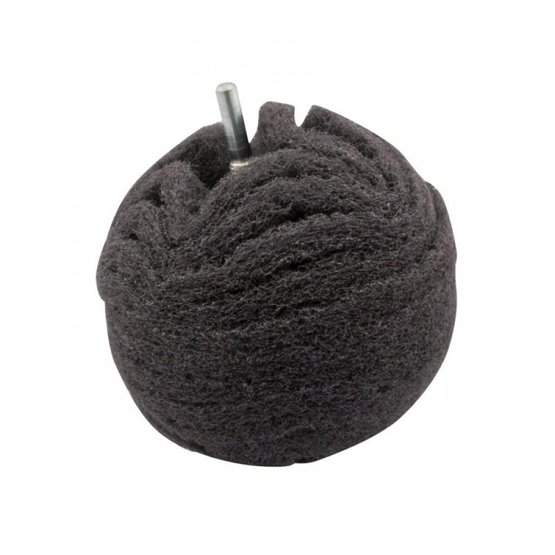 Flexipads Scruff Ball 75mm / 3in Grey Ultra Fine