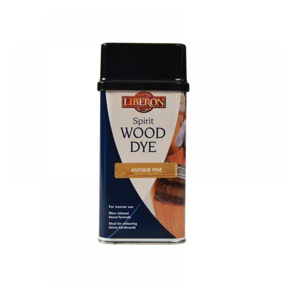 Liberon Spirit Wood Dye Antique Pine 250ml