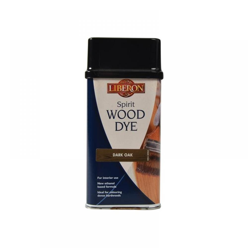 Liberon Spirit Wood Dye Dark Oak 250ml