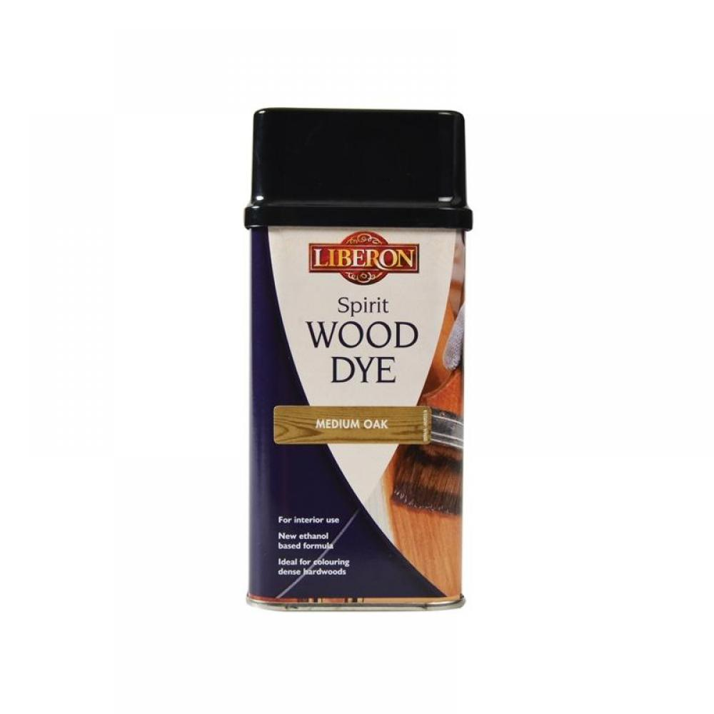 Liberon Spirit Wood Dye Medium Oak 250ml