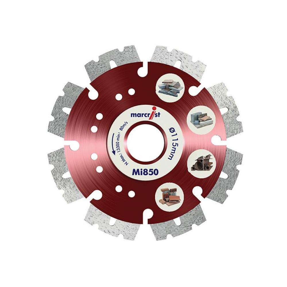 Marcrist Mi850 Fastest Universal Cut Diamond Blade 230 x 22.2mm