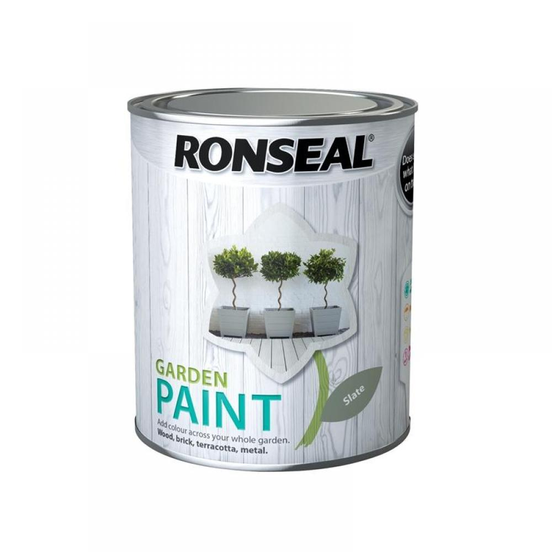 Ronseal Garden Paint Slate 750ml