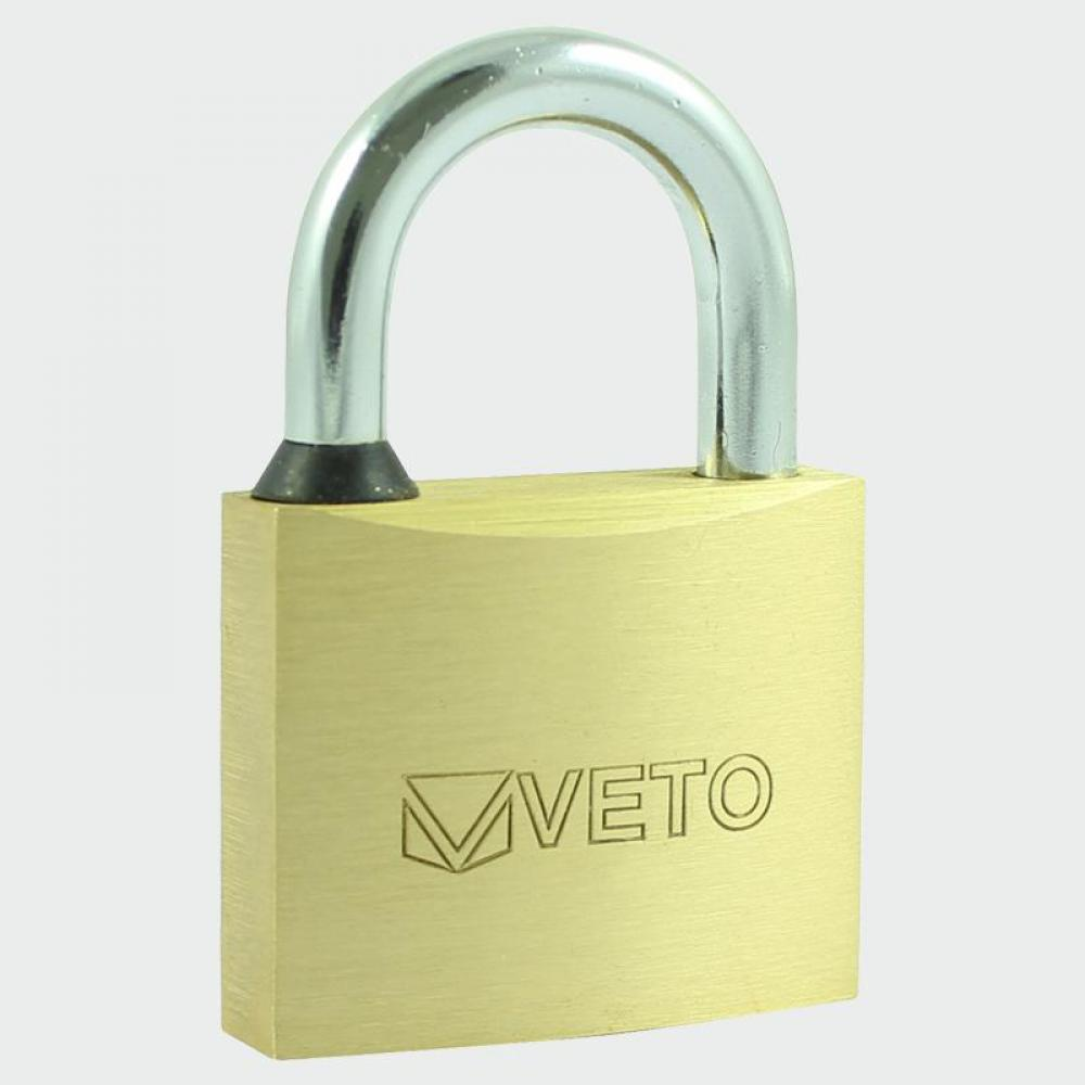 TIMco Brass Padlock 60mm Blister Pack qty 1