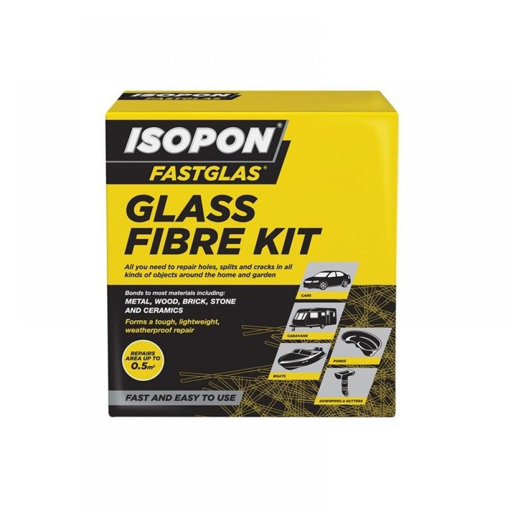 U-Pol ISOPON FASTGLAS Resin & Glass Fibre Kit Large